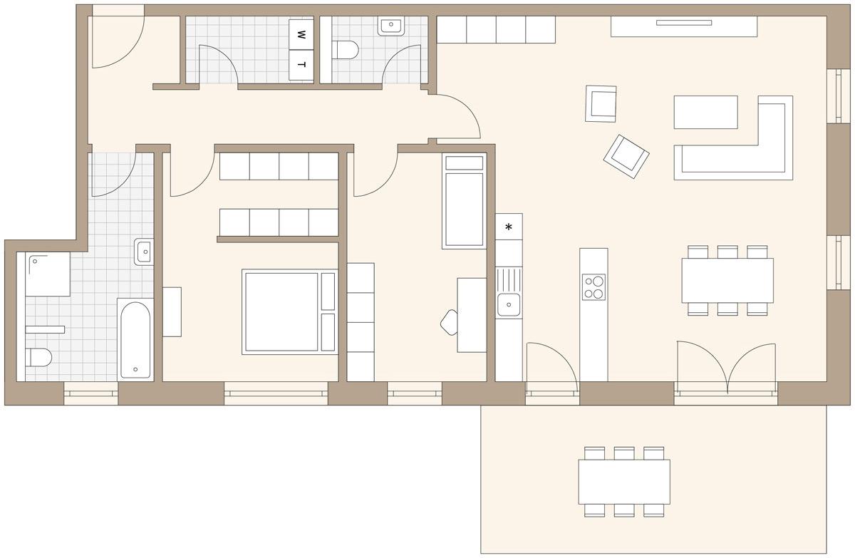 Einfamilienhaus mit 3 zimmer einliegerwohnung im erdgeschoss  HAUS A – HEILSBRONN WOHNPARK