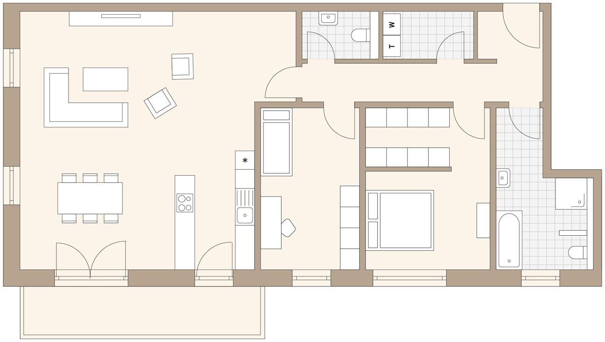 haus a heilsbronn wohnpark. Black Bedroom Furniture Sets. Home Design Ideas